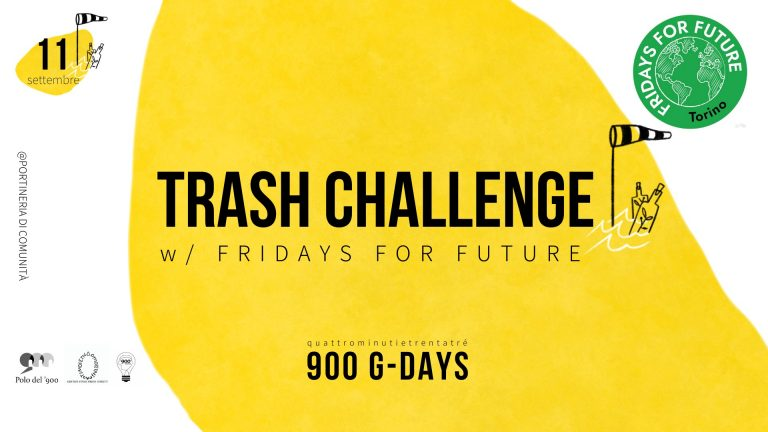 900 G-DAYS Trash Challenge