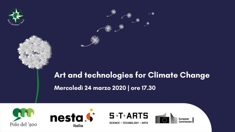Art and technologies for Climate Change.